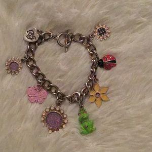Betsey Johnson frog bracelet